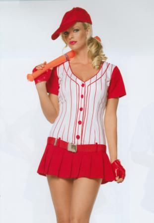 Baseball Sexy Girl Uniforms Kool 4 Kats Costume Hire