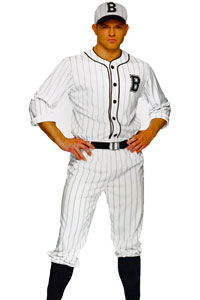 American Baseball player Costume for hire at Kool 4 Kats