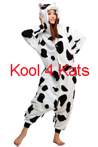 Kool 4 Kats now stocking Onesies for hire - Cow