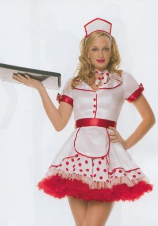 Diner Betty 1950's Waitress Uniforms Kool 4 Kats Costume Hire