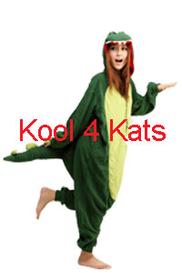 Kool 4 Kats now stocking Onesies for hire - Dinosaur