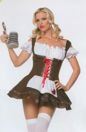 German Girl size 12 - 14 costume hire at Kool 4 Kats Costume Shop Adelaide