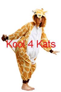 Kool 4 Kats now stocking Onesies for hire - Giraffe