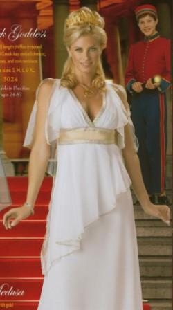 Greek Godess Kool 4 Kats Costume Hire