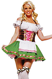 Gretchen German Beer Girl Size 10 Costume Hire