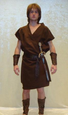 Hercules Costume for hire at Kool 4 Kats