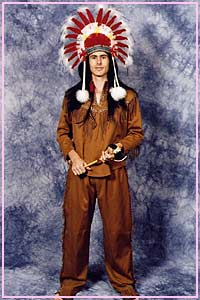 American Indian Chief Kool 4 Kats Costume Hire