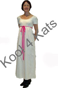 Jane Austen Style Costume for hire at Kool 4 Kats