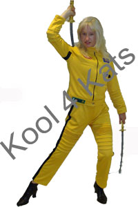 Kill Bill Costume for hire at Kool 4 Kats