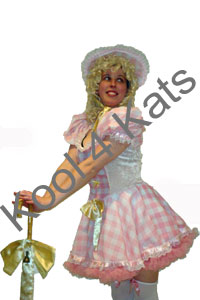 Lil Bo Peep Costume for hire at Kool 4 Kats