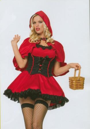 Little Red Riding Hood size 10 - 12 Costumes for hire at Kool 4 Kats Costume Shop Adelaide