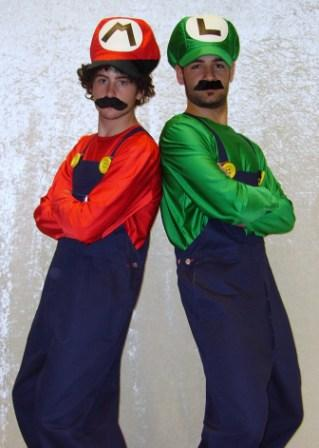 Mario & Luigi Costumes for hier at Kool 4 Kats Costume Shop Adelaide