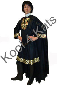 Medieval Lord Sheriff of Nottingham Costume for hire at Kool 4 Kats