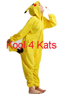 Kool 4 Kats now stocking Onesies for hire - Picachu