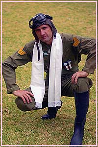 Pilot Biggles Red Baron Military Kool 4 Kats Costume Hire
