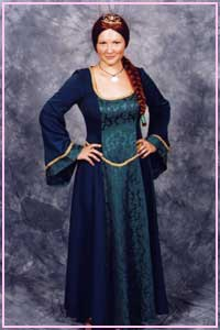 Princess Fiona Costume size 10 - 14 for hire at Kool 4 Kats Costume Shop Adelaide