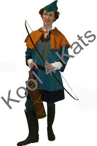 Robin Hood Men in Tights Costume for hire at Kool 4 Kats