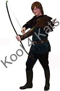 Robin Hood Costume for hire at Kool 4 Kats