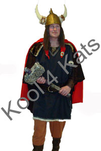 Viking Thor Costume for hire at Kool 4 Kats