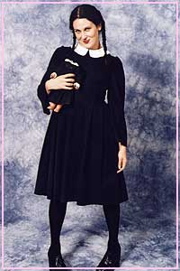 Wednesday Addams Size 10 Kool 4 Kats Costume Hire