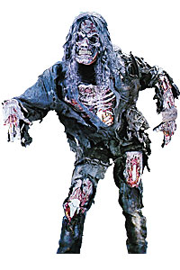 Zombie Mens Medium to Large Kool 4 Kats Costume Hire