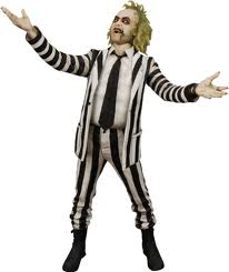 Beetlejuice Costume for hire at Kool 4 Kats